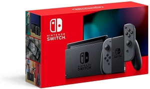 ihocon: Nintendo Switch with Gray Joy‑Con (Used - Like New)