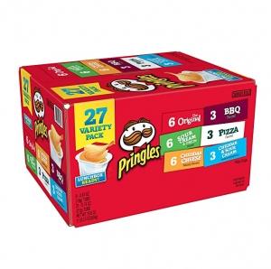 ihocon: Pringles Snack Stacks Potato Crisps Chips, 19.5 Oz (27 Cups) 品客薯片