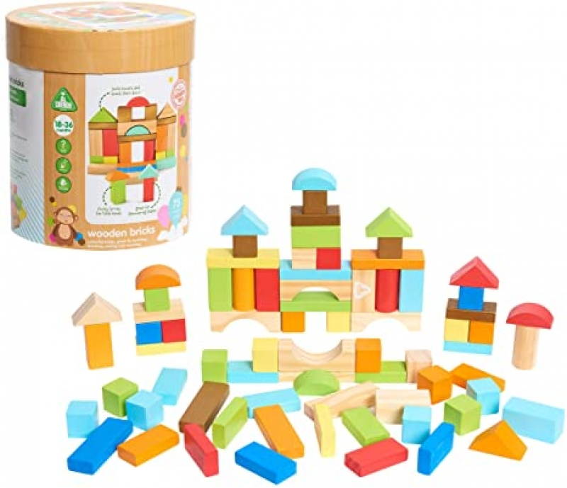 ihocon: Early Learning Centre Wooden Bricks木製積木