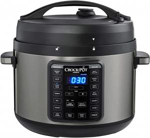 ihocon: Crock-Pot 10Qt. Express Crock Multi-Cooker with Easy Release Steam Dial 多功能電壓力鍋