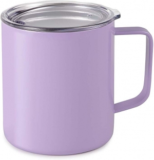 ihocon: Maars Drinkware 79710-1PK Townie Stainless Steel Insulated Coffee Mug, 1 Pack, Lavender  不銹鋼保溫杯