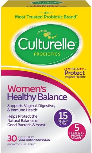ihocon: Culturelle Women's Healthy Balance Probiotic 30 Count 女士益生菌