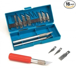 ihocon: Darice 16-Piece Hobby Knife Set美工刀組