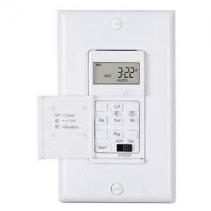 ihocon: Century 7 Day Programmable In-Wall Timer Switch for Lights, fans and Motors 7天定時開關(可控制燈, 風扇, 馬達..)