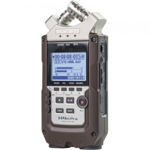 ihocon: Zoom H4n Pro 4-Input / 4-Track Portable Handy Recorder with Onboard X/Y Mic Capsule (Dark Brown)  便攜式數位錄音機