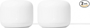 ihocon: Google Nest WiFi Router 2 Pack – 4x4 AC2200 Mesh Wi-Fi Routers with 4400 sq ft Coverage 家庭網路系統