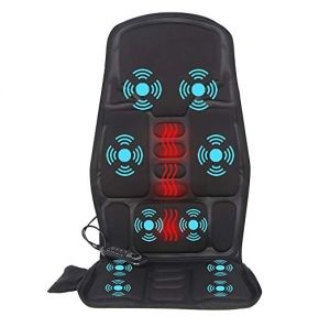 ihocon: IDODO Vibration Car Back Massager with Heat, 10 Vibrating Motors & Heating Therapy 加熱按摩椅墊