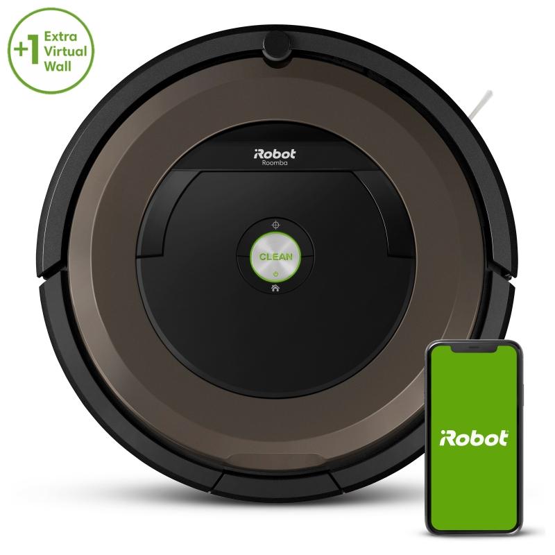 ihocon: iRobot Roomba 890 Wi-Fi Connected Robot Vacuum Bundle With Virtual Wall 吸地機器人