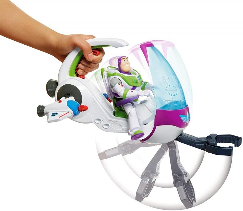ihocon: Toy Story Disney and Pixar Galaxy Explorer Spacecraft & Buzz Lightyear Figure