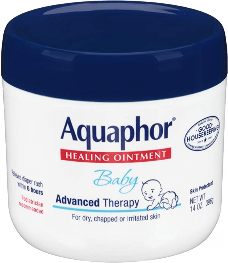 ihocon: Aquaphor Baby Healing Ointment, 14. Oz Jar 嬰兒保濕霜