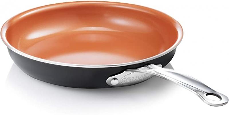 ihocon: Gotham Steel 9.5 Ultra Nonstick Ceramic Copper Coating by Titanium Frying Pan by Daniel Green 不沾鍋