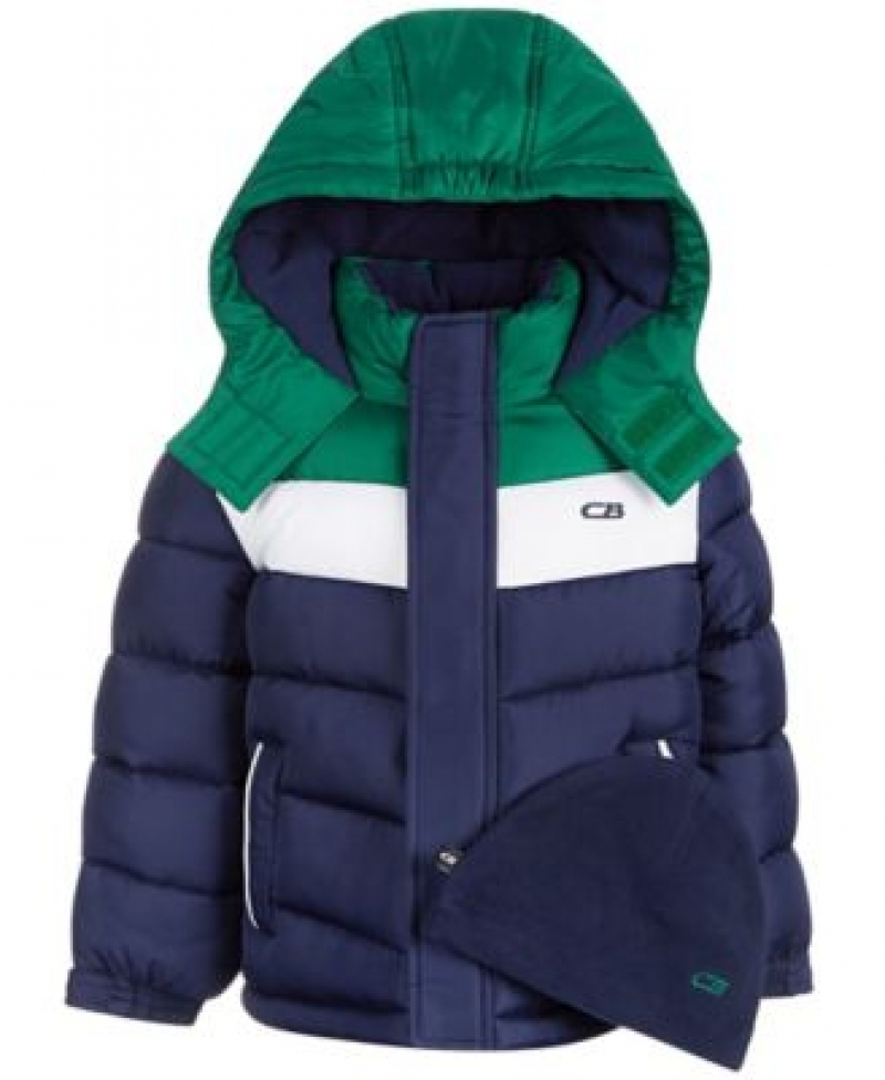 ihocon: CB Sports Big Boys Chevron Puffer Coat 兒童夾克-2色可選