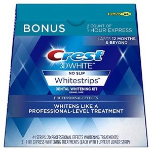 Crest 3D White 美白貼片 22片 $30.49免運(原價$68)