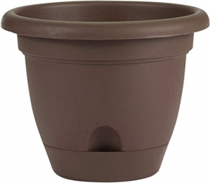 ihocon: Bloem LP1045 Lucca Self Watering Planter, 10吋 自澆水花盆
