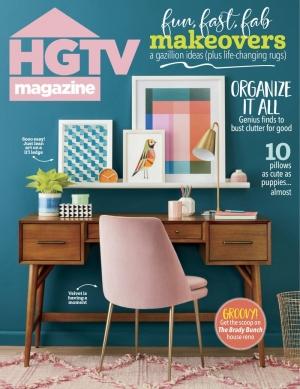 HGTV Magazine一年10期 $11.95(原價$19.99)