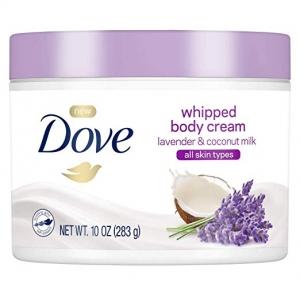 ihocon: Dove Whipped Lavender and Coconut Milk Body Cream 10 oz 薰衣草/椰奶潤膚霜
