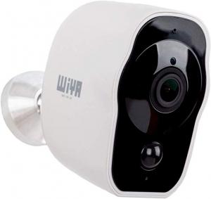 ihocon: WiYA Home Surveillance HD Security Camera With Night Vision & 2-Way Audio 居家安全無線充電監視攝像頭