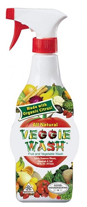 [超讚] Veggie Wash 天然果蔬清洗劑 16oz $3.48(原價$12.62)