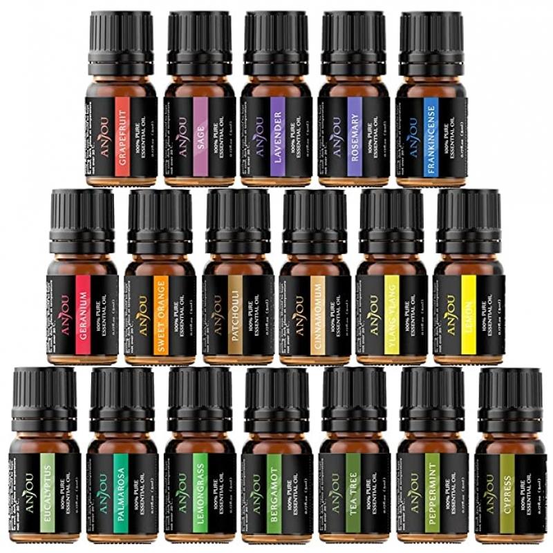 ihocon: Anjou 18PCS Aromatherapy Oil Upgraded Gift Set 精油 5ml