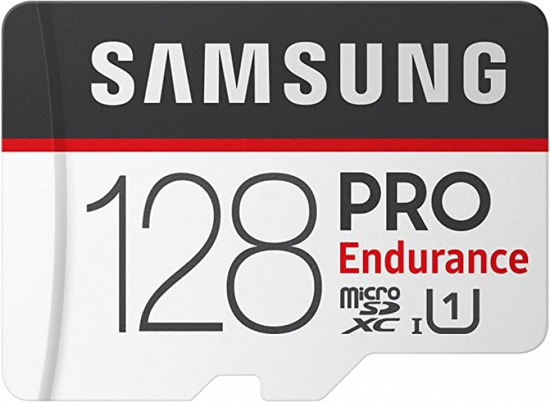 ihocon: Samsung PRO Endurance 128GB 100MB/s (U1) MicroSDXC Memory Card with Adapter