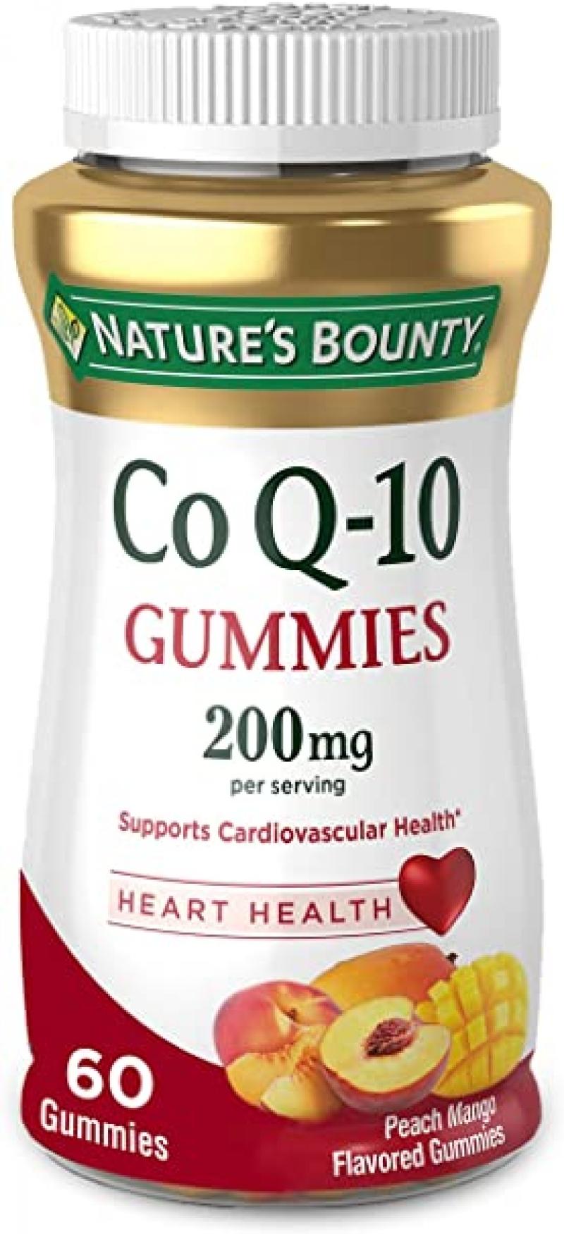ihocon: Nature's Bounty CoQ10 Gummies 200mg 60 Count