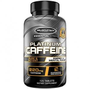 ihocon: Muscletech Platinum 100% Caffeine Pill, Unflavored, 125 Count  咖啡因丸
