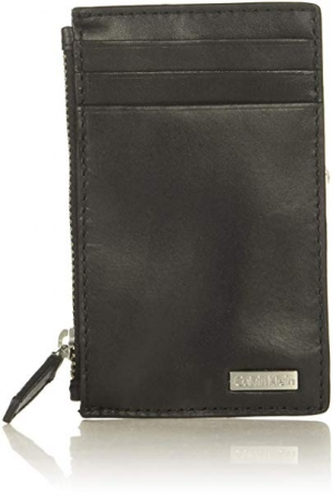 ihocon: Calvin Klein Men's Zip Around Wallet  男士拉鍊錢包
