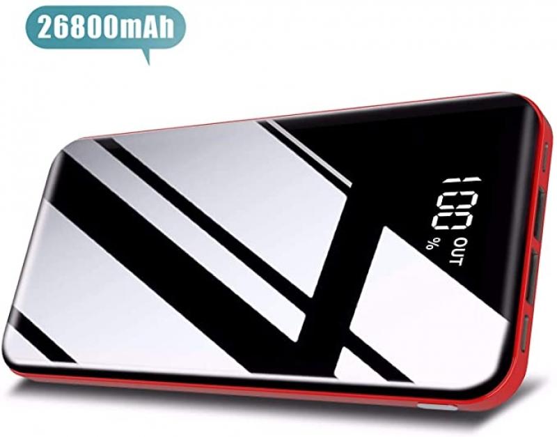 ihocon: Todamay K20 26800mAh Portable Power Bank with 2 USB Charging Ports行動電源/充電寶