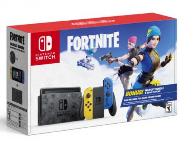 ihocon: Nintendo Switch™ Fortnite Wildcat Bundle