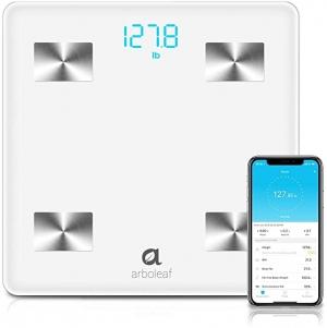 ihocon: Arboleaf Bluetooth Smart Scale Bathroom Weight Scale, 10 Key Composition, iOS Android APP 智能體脂體重秤