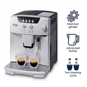ihocon: De'Longhi ESAM04110S Magnifica Fully Automatic Espresso Machine with Manual Cappuccino System, Silver 全自動濃縮/卡布奇諾咖啡機