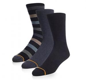 ihocon: Gold Toe Men's Cotton Dress Socks 6-Pairs 棉質男襪6雙 - 多色可選