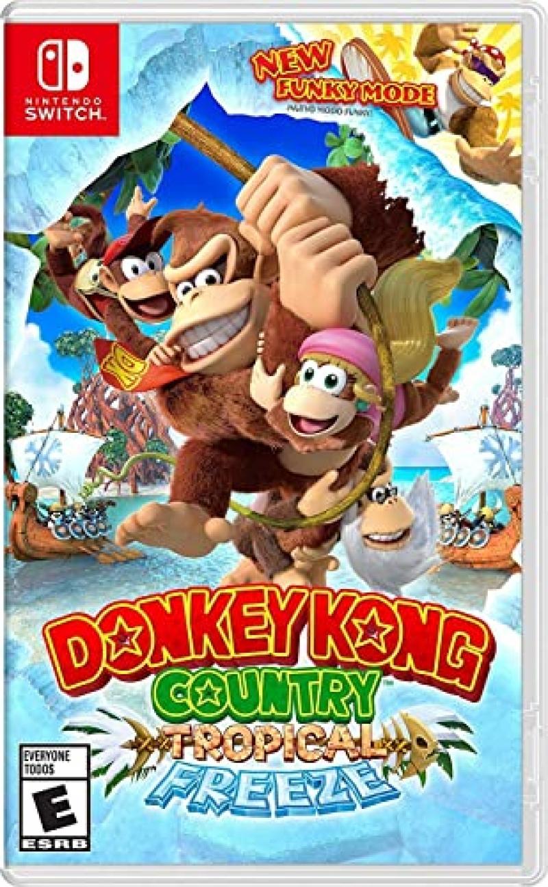 ihocon: Nintendo Switch遊戲 - Donkey Kong Country: Tropical Freeze