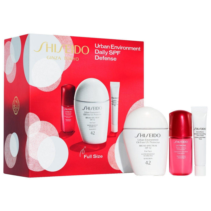 ihocon: ShiseidoUrban Environment Daily SPF Defense 資生堂日間防曬套裝(價值$83)