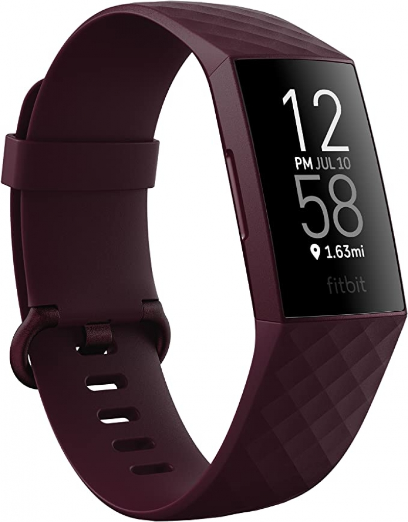 ihocon: Fitbit Charge 4 Fitness and Activity Tracker with Built-in GPS, Heart Rate, Sleep & Swim Tracking 心率,睡眠, 運動追踪 運動智慧手環