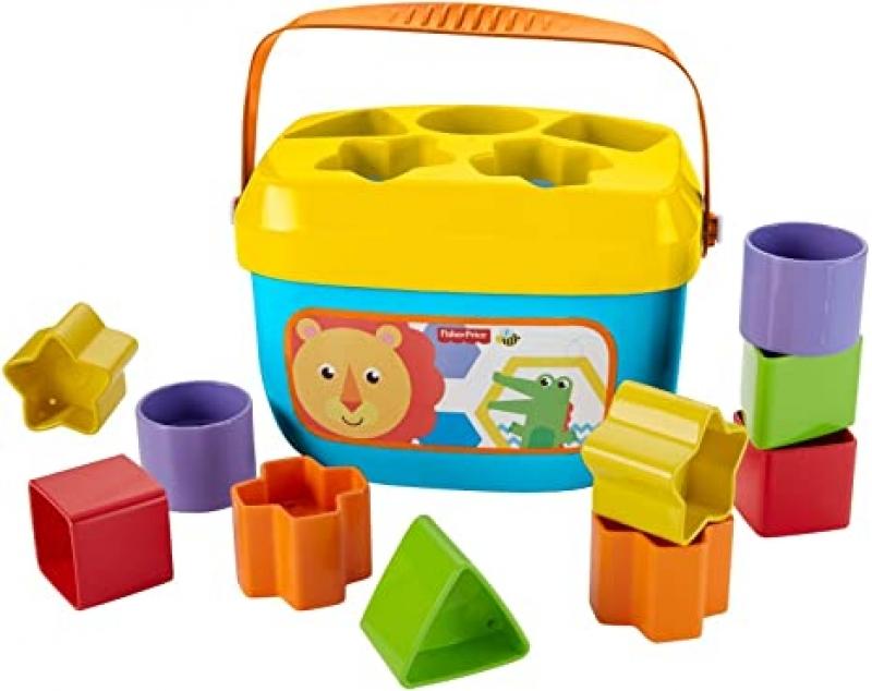 ihocon: Fisher-Price Baby's First Blocks 形狀辨識玩具