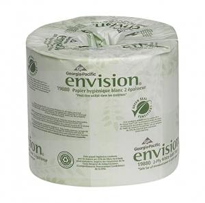 ihocon: Georgia Pacific Envision 2-Ply Embossed Toilet Paper,550 Sheets Per Roll, 80 Rolls 衛生紙