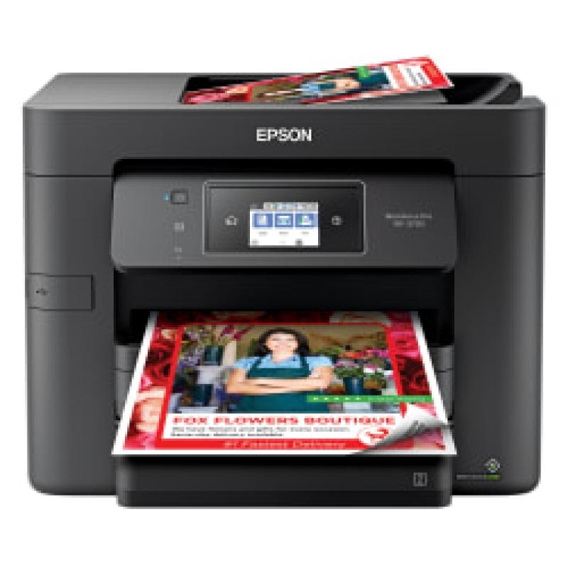 ihocon: Epson WorkForce Pro WF-3730 Wireless InkJet All-In-One Color Printer 無線彩色噴墨多功能印表機-print/scan/copy/fax