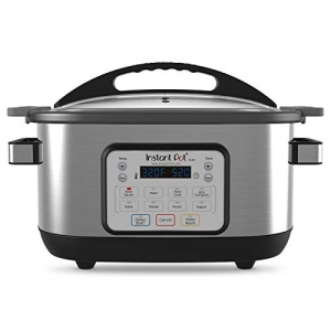 ihocon: Instant Pot 6 Qt Aura Multi-Use Programmable Multicooker, Silver 多功能鍋