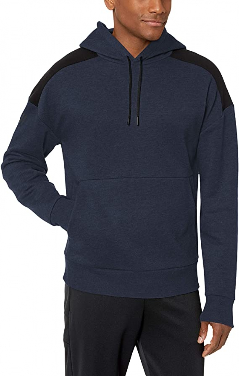 ihocon: [Amazon自家品牌] Peak Velocity Men's Medium-weight Fleece Pullover Loose-fit Sweatshirt 男士連帽衫