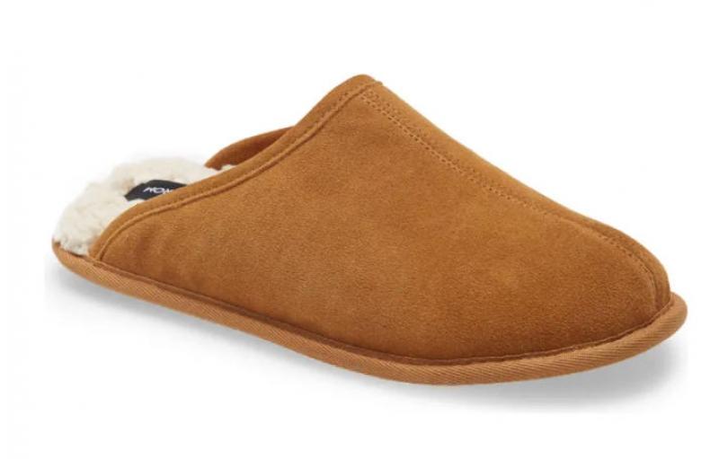 NORDSTROM 男士保暖室內拖鞋 $9.98(原價$24.95)
