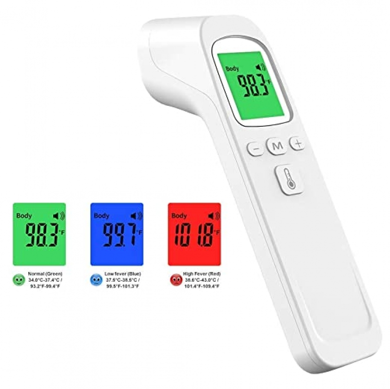 ihocon: Forehead Thermometer Non-Contact Infrared Digital Thermometer 額頭體溫計