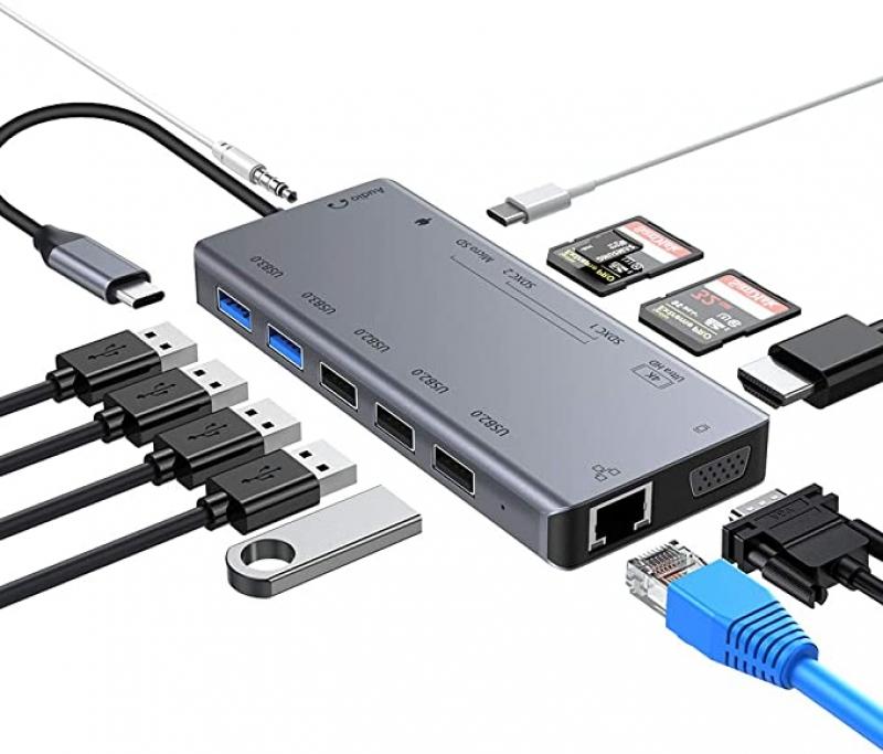 ihocon: RAYROW 13 in 1 USB C HUB