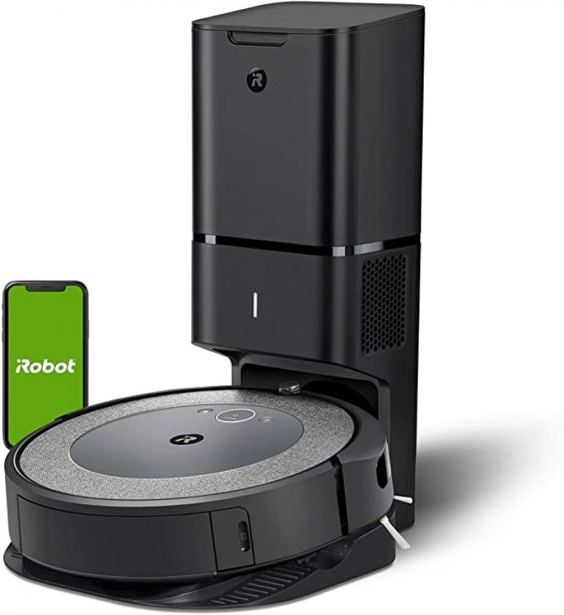 ihocon: iRobot Roomba i3+ (3550) Robot Vacuum with Automatic Dirt Disposal Disposal - Empties Itself, Wi-Fi Connected Mapping, Works with Alexa+ 自動清空垃圾智能吸地機器人