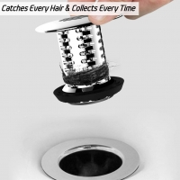 ihocon: Aofmee Tub Drain Hair Catcher水槽排水孔防塞器