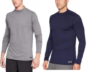 ihocon: Under Armour Men's ColdGear Compression Mock LS Shirt 男士長袖衫 - 2色可選