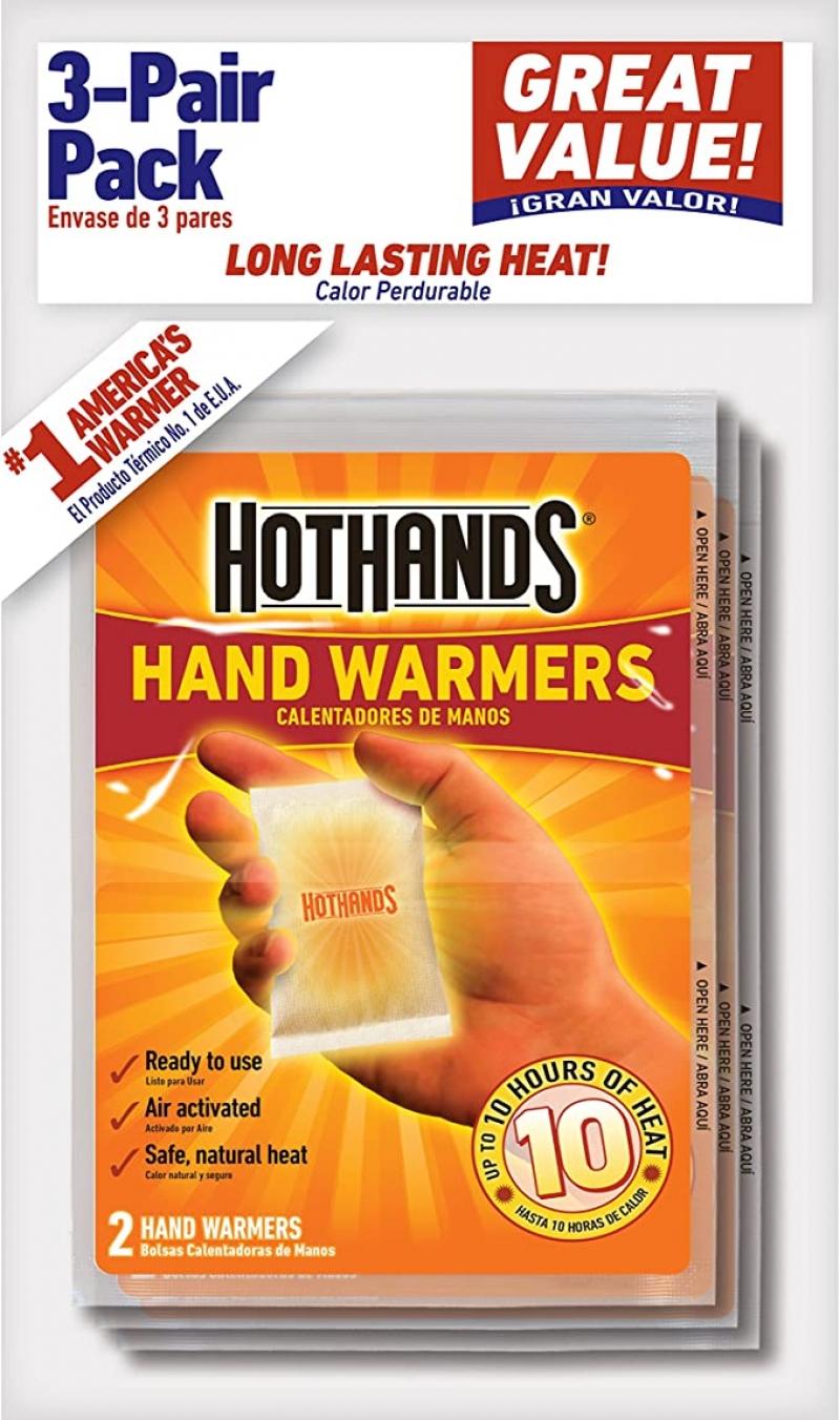 ihocon: HotHands Hand Warmers, 3 Pair 暖暖包