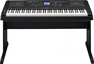 ihocon: Yamaha DGX660B 88-Key Weighted Digital Piano With Furniture Stand,Black 加重琴鍵電鋼琴