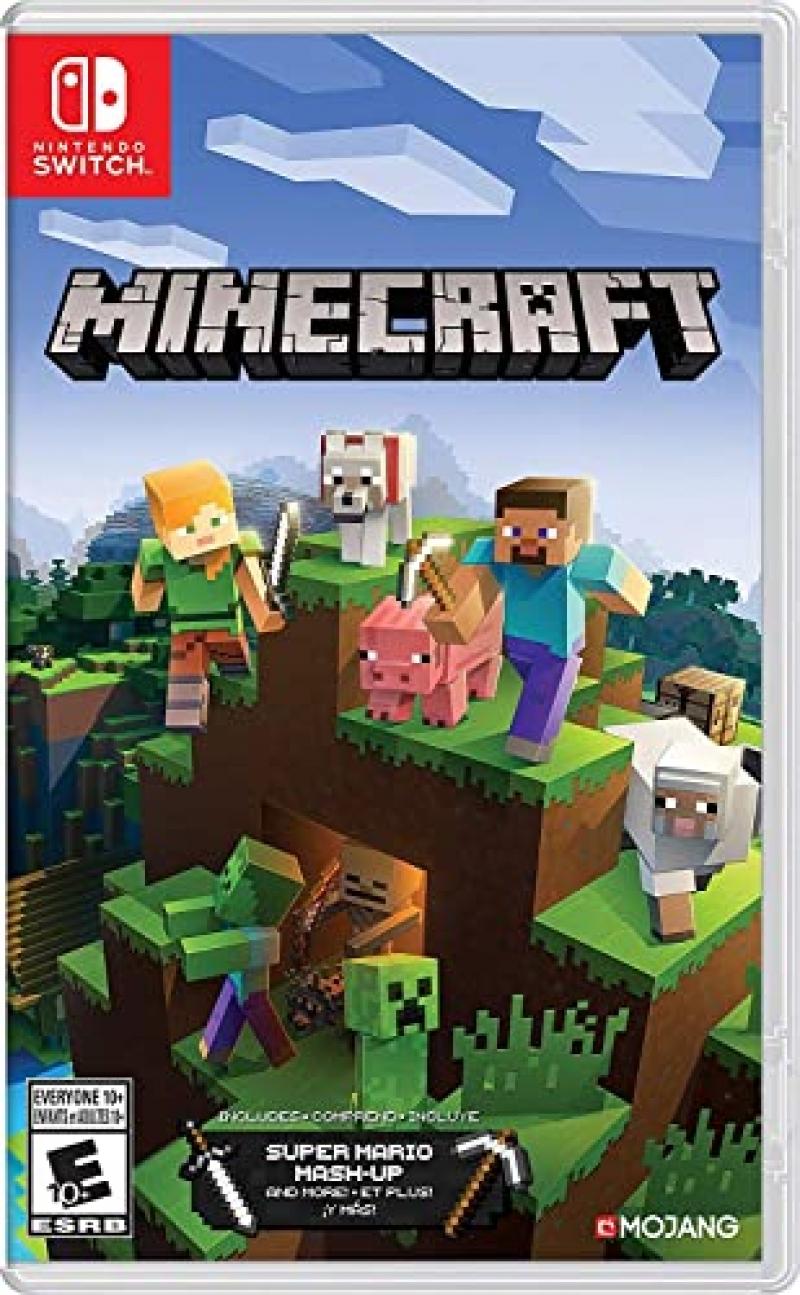 ihocon: Nintendo Switch遊戲 - Minecraft