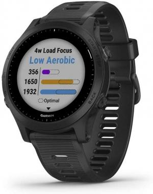 ihocon: Garmin Forerunner 945 GPS Smartwatch with Music (Black)智能錶